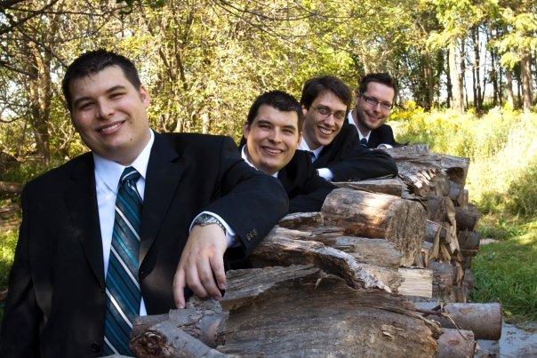 Tyler and his groomsmen