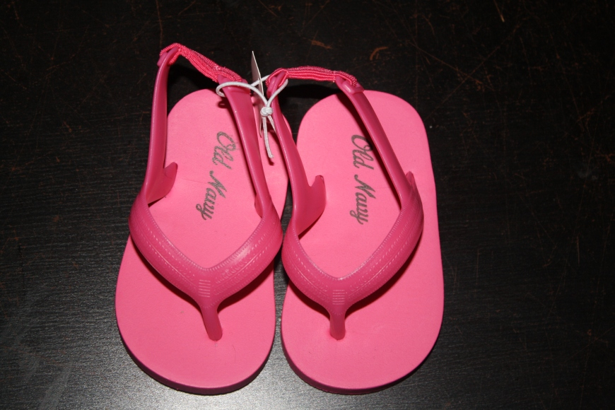 New sandals for the guppy pool!